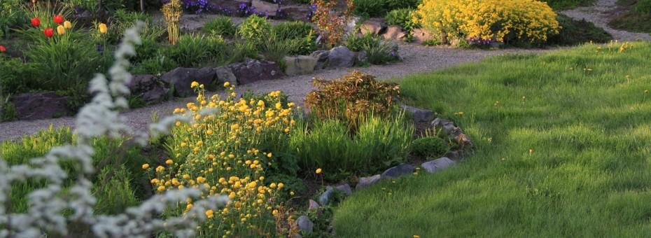 Springtime at Gatiss Gardens